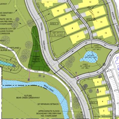 Kestrel Park Site Map
