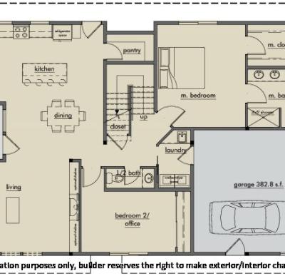 Kestrel Park Floor Plan - Lot 2