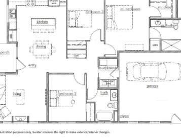 Kestrel Park Floor Plan - Lot 3