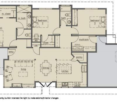 Kestrel Park Floor plan - Lot 9