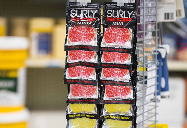 SURLY Soap product line
