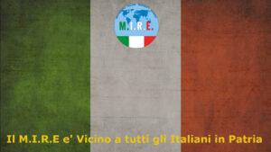 Il M.I.R.E. Vicino agli Italiani