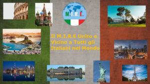 Il M.I.R.E. e gli Italiani nel Mondo