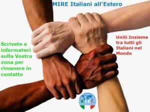 Iscriviti al Gruppo: MIRE Italiani all'Estero