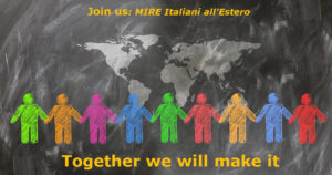 Join us : MIRE Italiani all'Estero