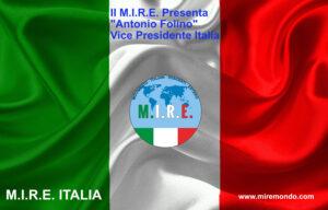 """""""Antonio Folino"""" Vice Presidente Italia"""