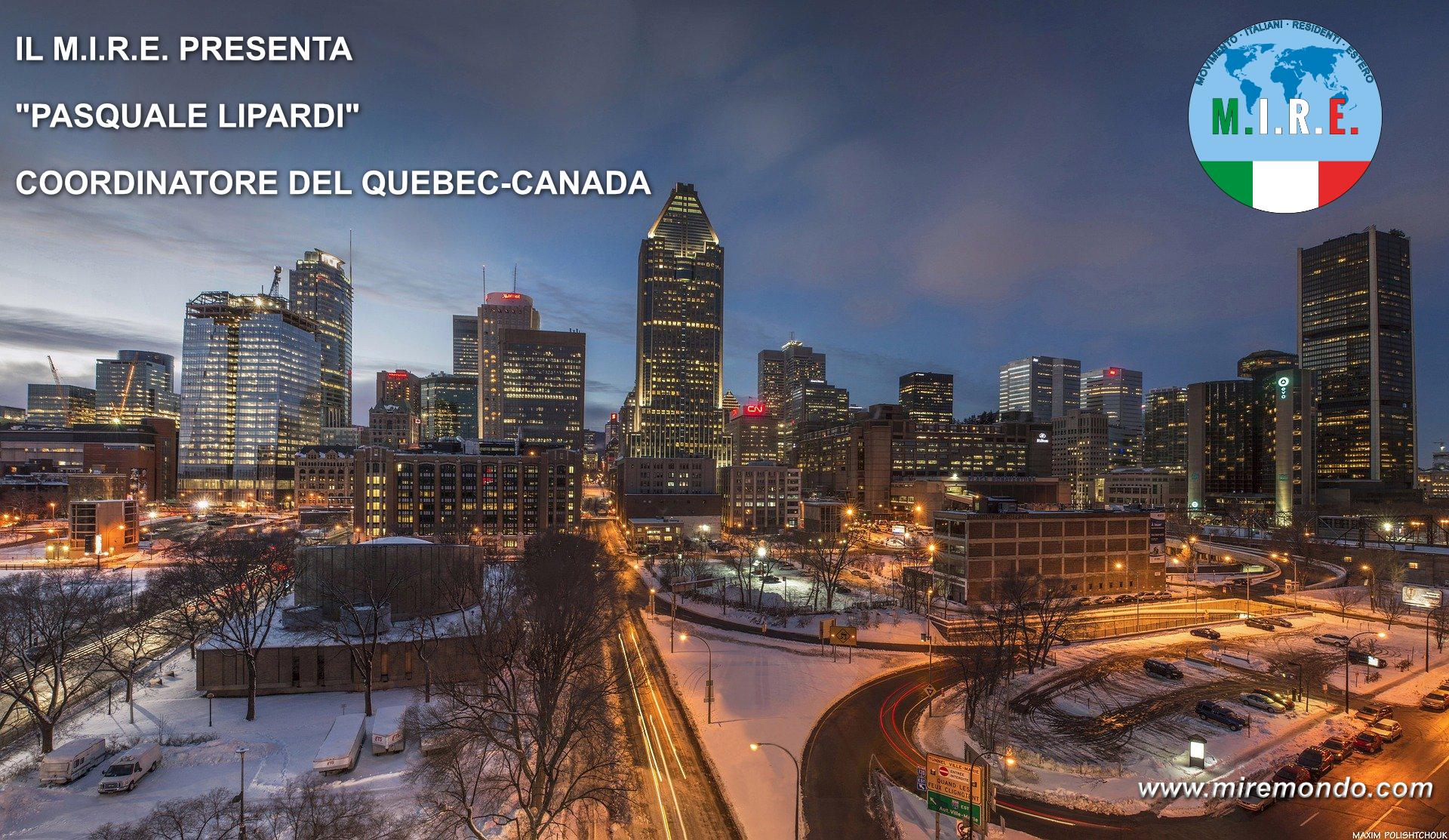 Coordinatore Quebec-Montreal