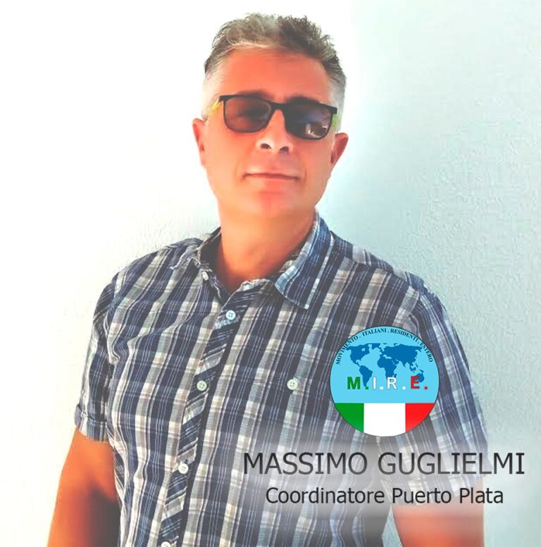 Guglielmi Massimo Coordinatore Puerto Plata