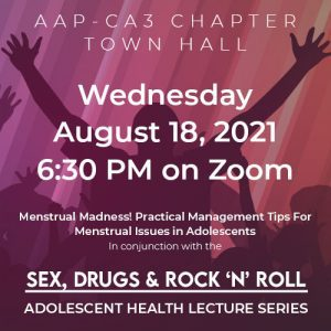 Sex, Drugs & Rock'N'Roll Lecture Series August 18, 2021