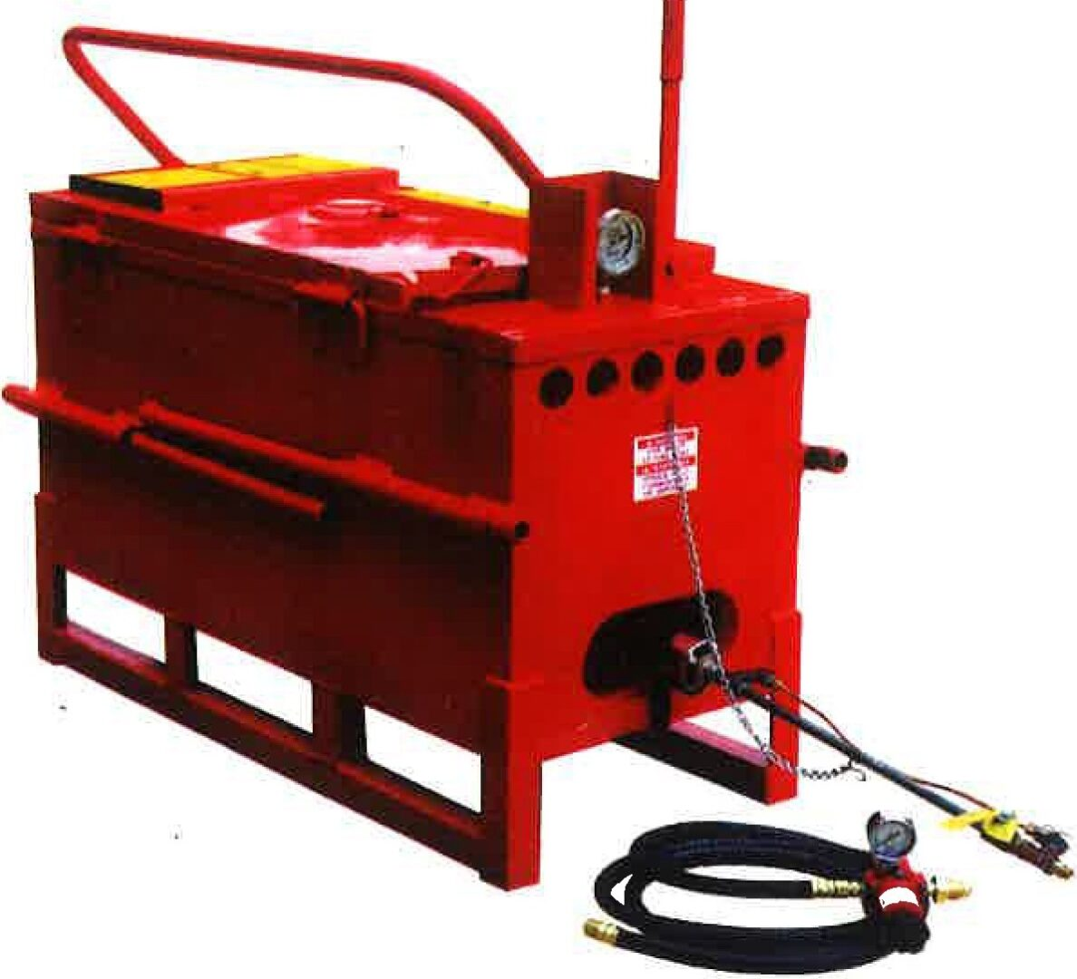 A Cleasby 30 Gallon Direct Fire Melter