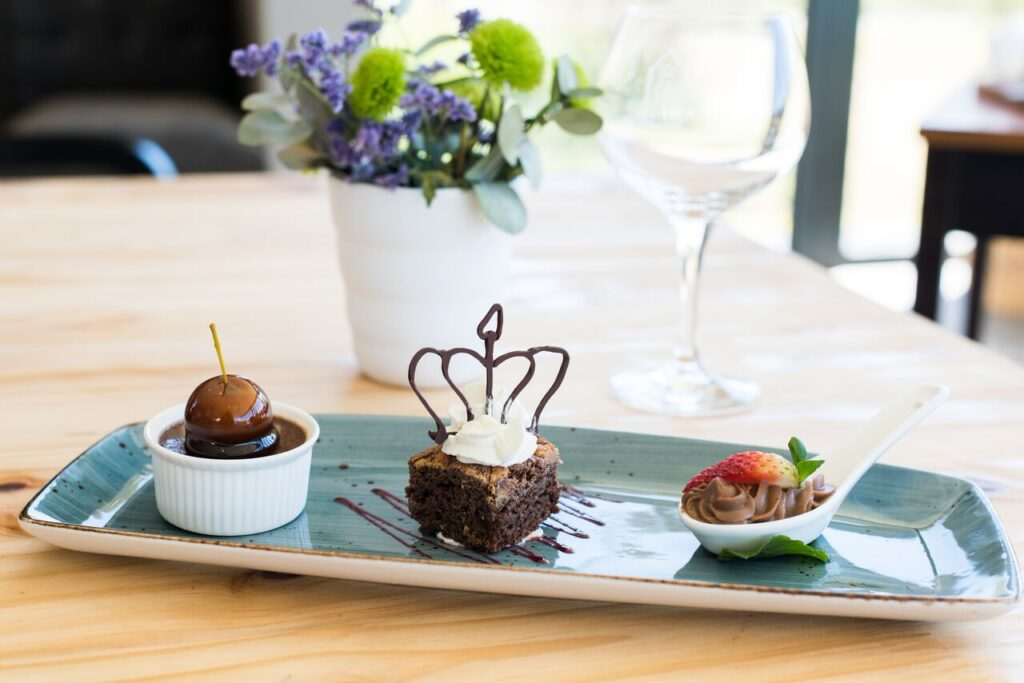 De Hoek Dessert Trio