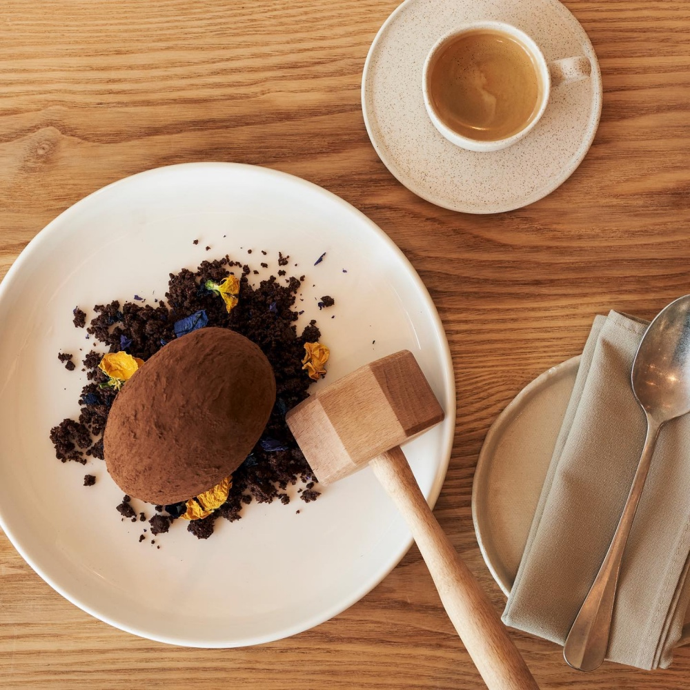Ethos chocolate dessert