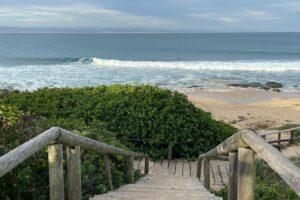 ocean boardwalk view