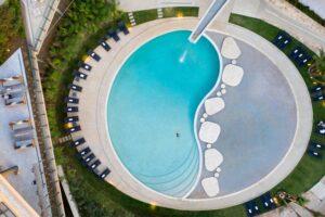 the houghton pool view hello joburg