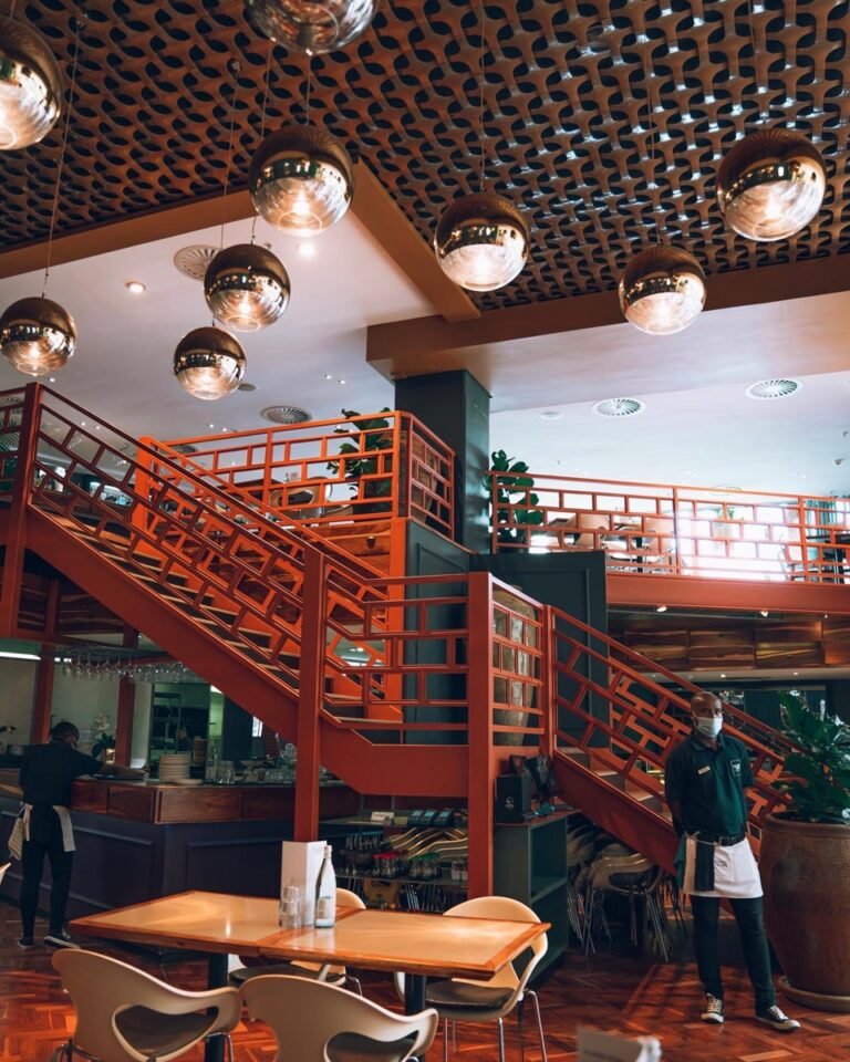 second story restaurant interior hello joburg