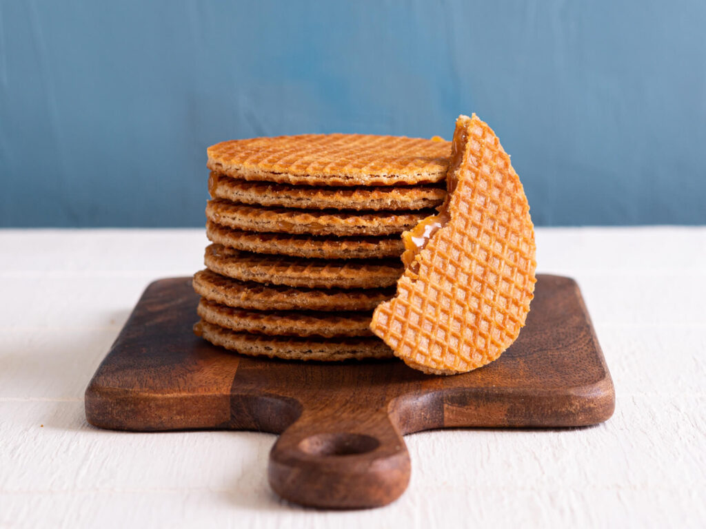 dutch waffles from KLM airlines