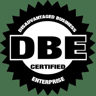 Certified DBE - Disadvantaged Business Enterprise