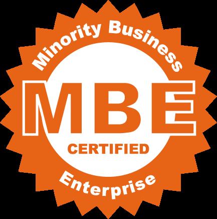 Certified MBE - Minority Business Enterprise