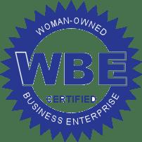 Certified WBE - Women's Business Enterprise