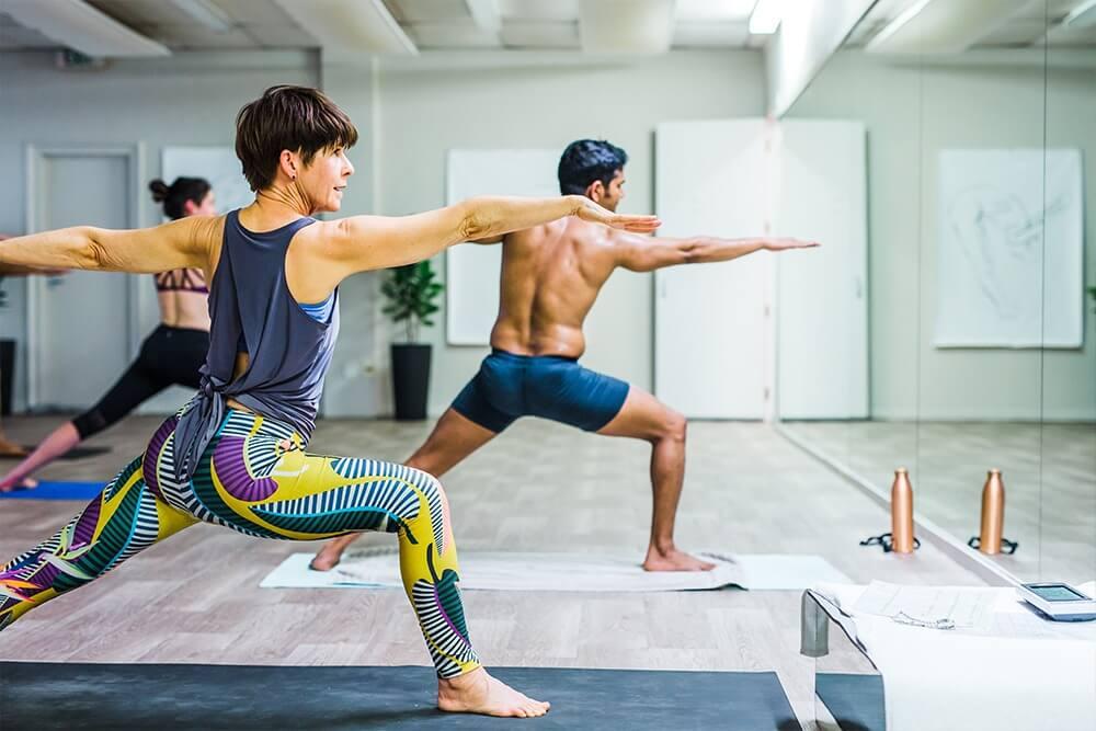 Wellington yoga sessions that focus on energising