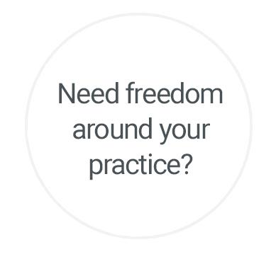 Need freedom around your practice?