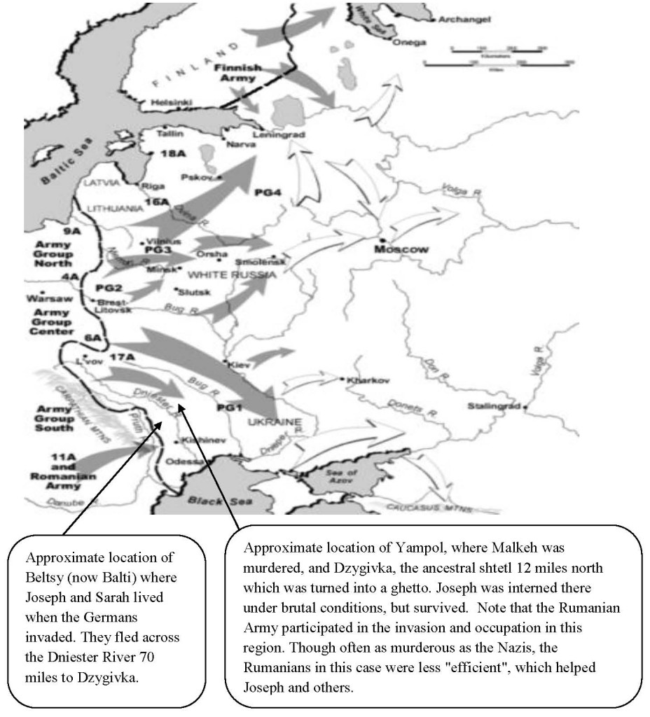 The German invasion of the Soviet Union, June 22, 1941