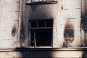 Smoke damage restoration at a building in Grapevine, Texas