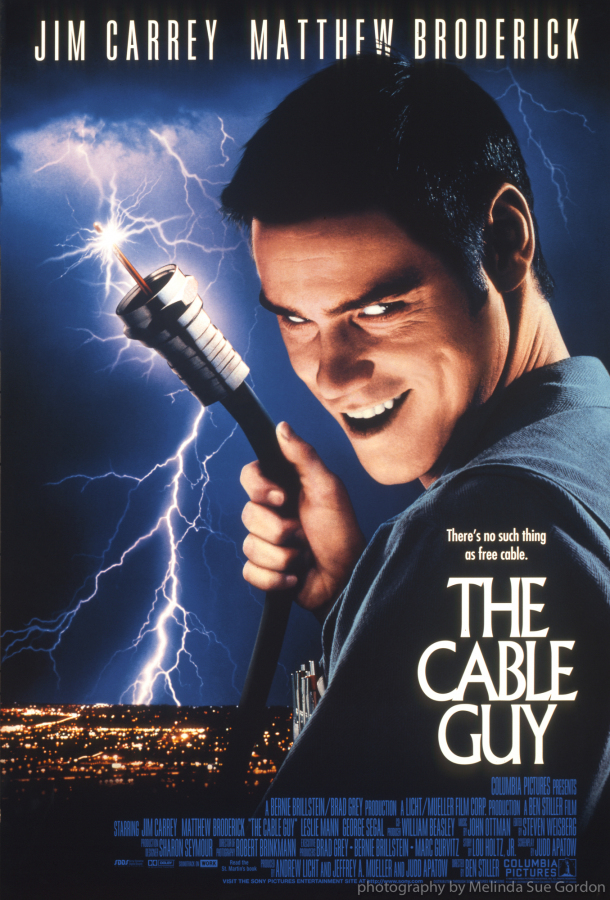 "from ""The Cable Guy"" ©1996 Columbia Pictures / Sony photo credit Melinda Sue Gordon"