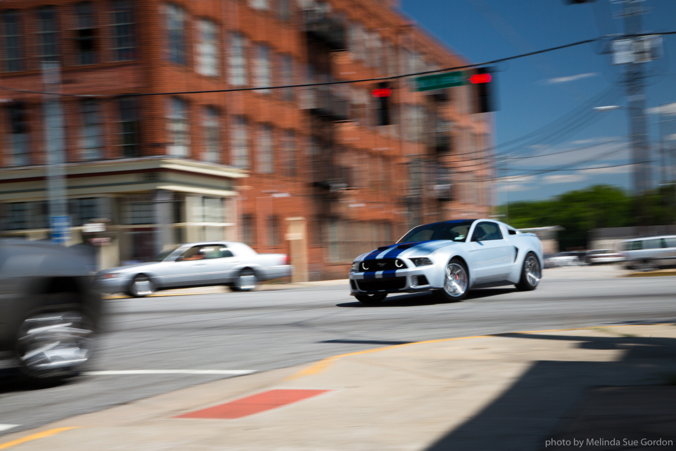 Mustang action in Scott Waugh's NEED FOR SPEED.