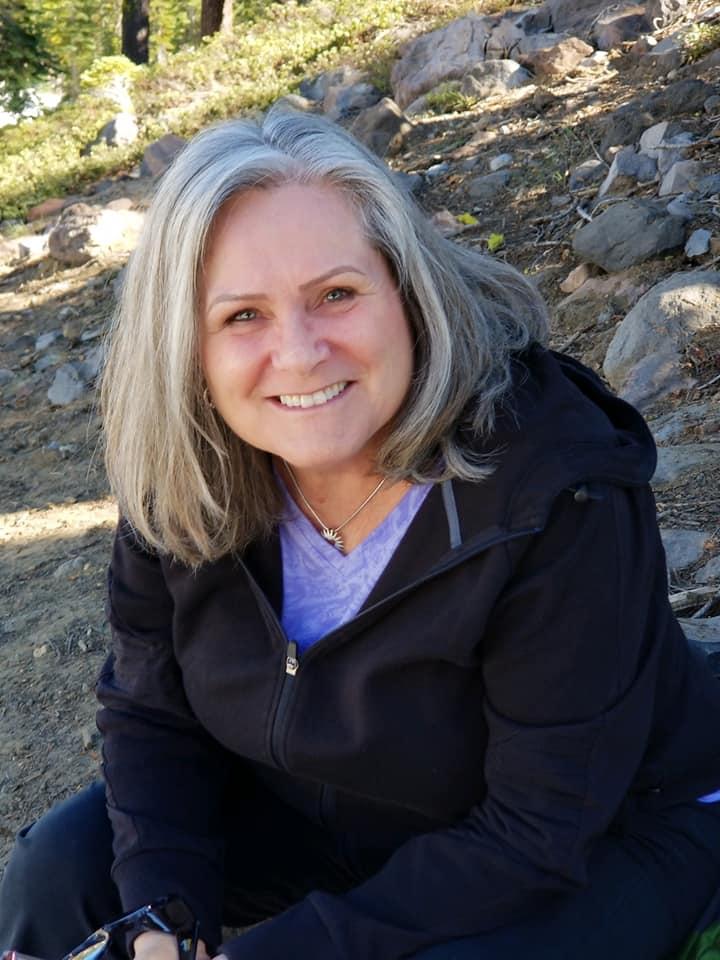 Sheila at Mt. Shasta