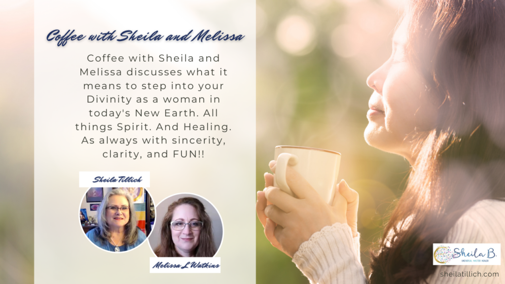 Coffee with Sheila and Melissa YouTube thumbnail