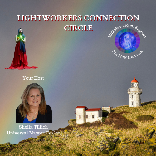 LIGHTWORKERS CONNECTION CIRCLE 500 x 500