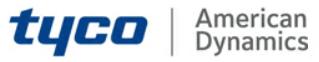 Tyco American Dynamics Video Surveillance