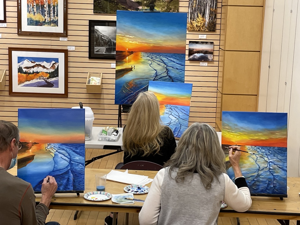 Jan. 2021 Painting Class 2