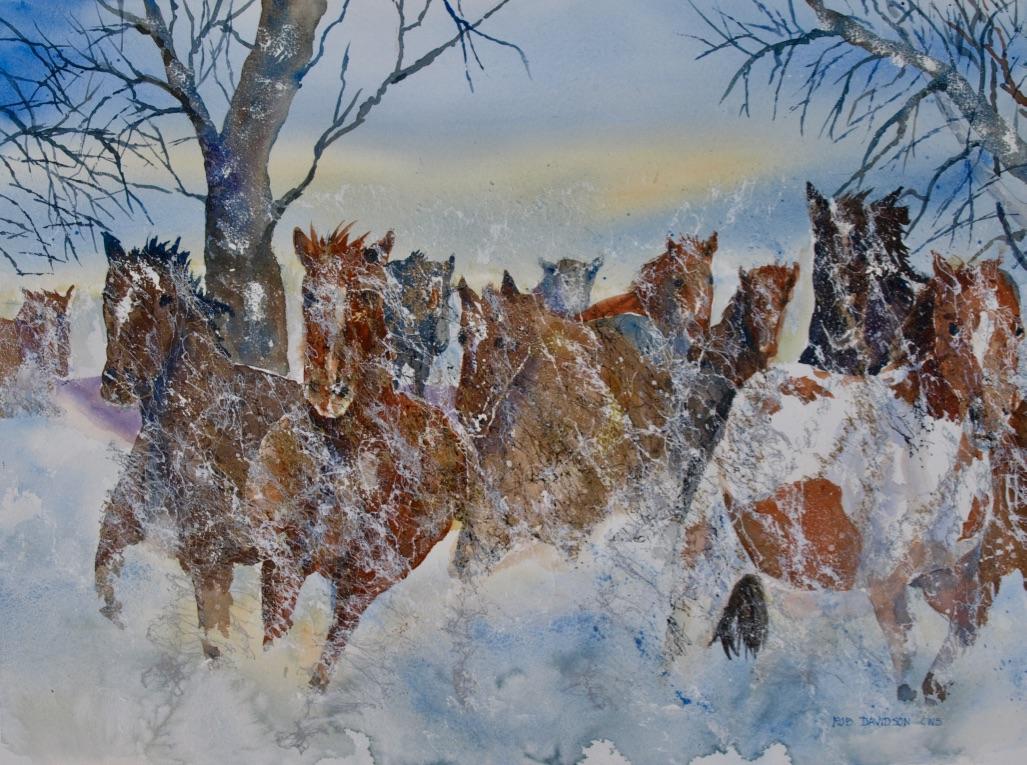 rad-wild-horses-stormin'-24x18-painting