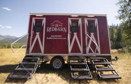 Redbarn Luxury Restroom Trailer