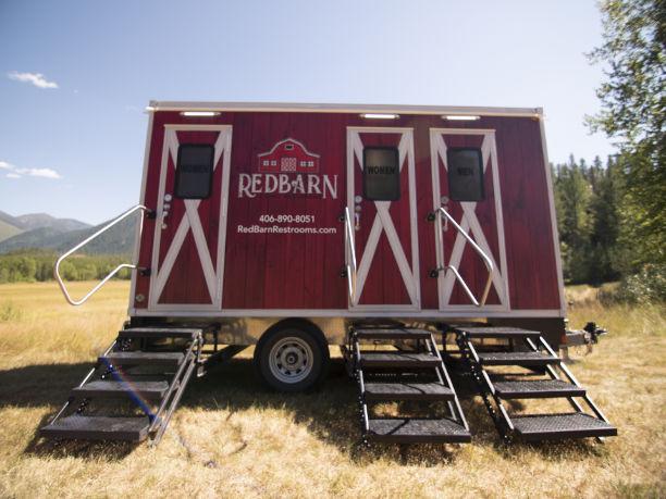 Front of Redbarn Trailer
