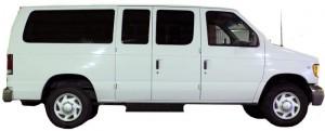 Side View - Alaska rental vans