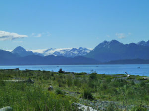 Overlooking-Kachemak-Bay,-Homer-AK