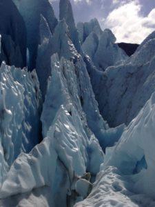 Ice Spires in the Matanuska Glacier