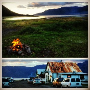 Traveling to Hope Alaska in a Camper Van