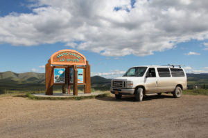 The Arctic Circle on Dempster Highway