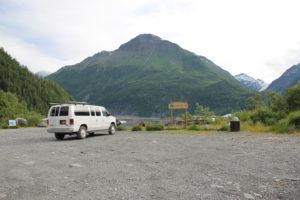 Glacier View Park in Valdez Alaska
