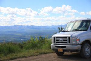 Ogilvie Ridge on Dempster Highway to Inuvik