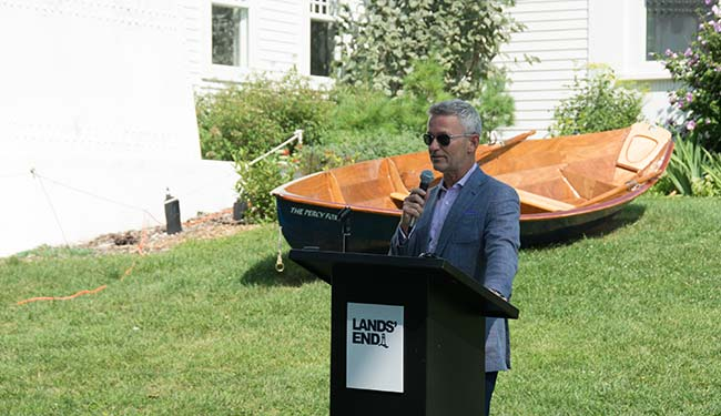 Lands' End CEO - Jerome Griffith