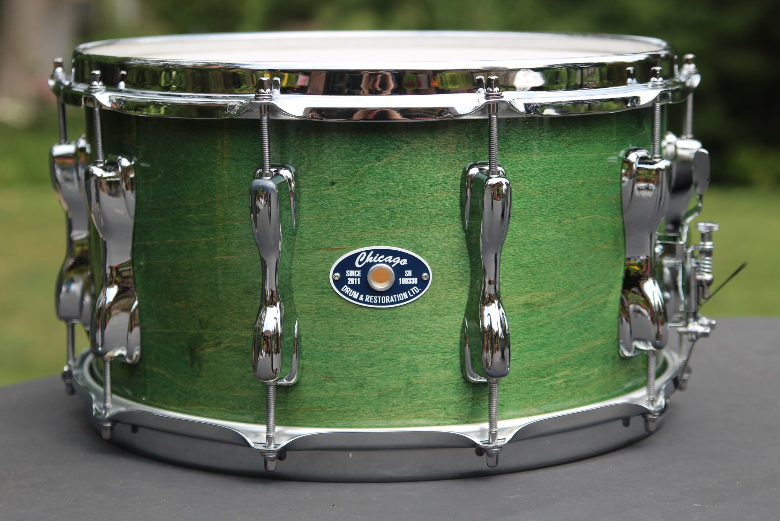 """569 Series - 8"""" Glorious Green over Maple/Poplar Shell"""