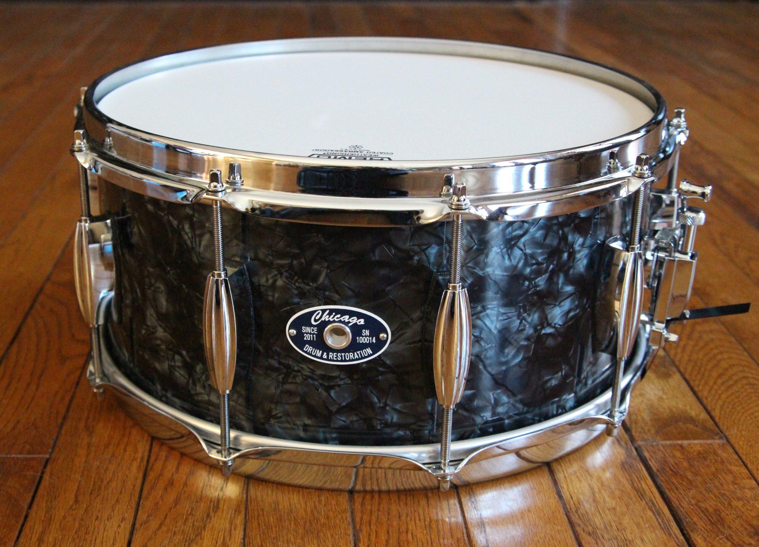 "6-1/2"" Black Pearl Snare Drum"
