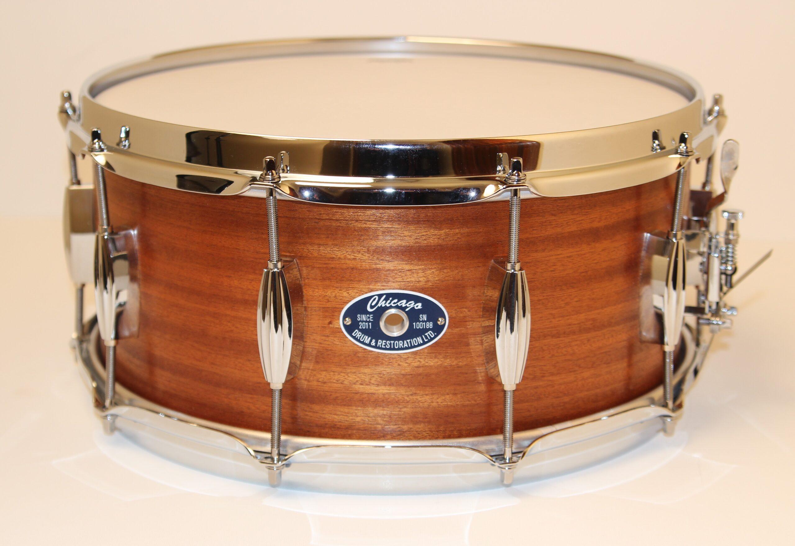 "6-1/2"" Mahogany Snare Drum"