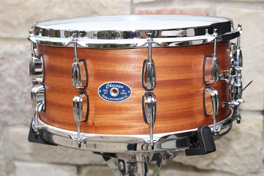 7 Inch Mahogany Snare Drum
