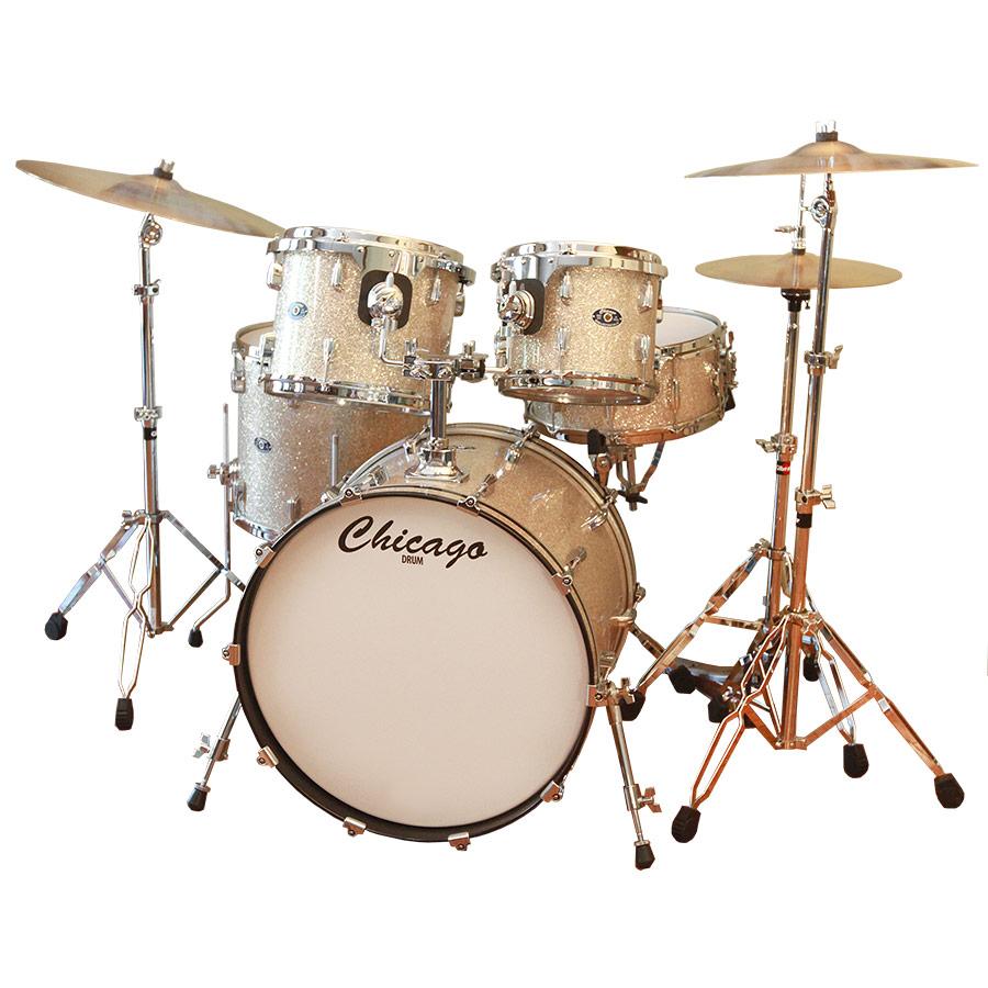 Modern Bermuda Sand Drum Set